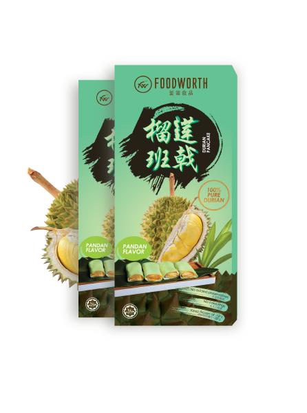 Durian Pancake Pandan